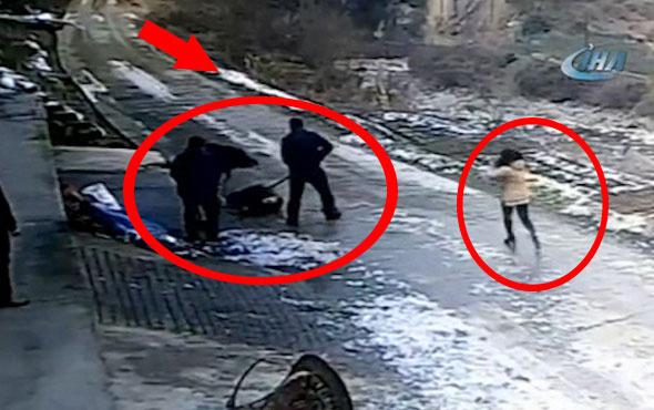 1 kişinin öldüğü domuz dehşeti saniye saniye kamerada!