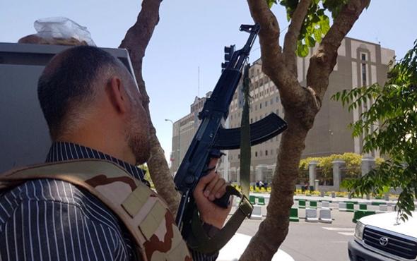 İran'da sıcak saatler! Saldırgan vuruldu