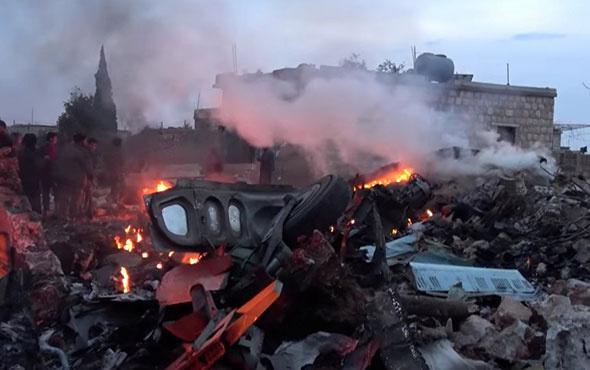 Düşürülen Rus uçağının pilotuyla ilgili bomba görüntü