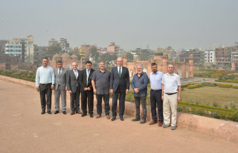Kültür ve Turizm Bakanı Numan Kurtulmuş, Bangladeş'te