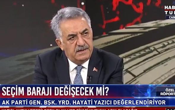 AK Parti ve MHP arasındaki ittifakın adı ne olacak! Yazıcı açıkladı!