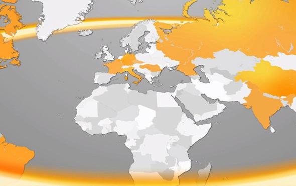 Skandal! Continental reklamında Türkiye'yi haritadan sildiler