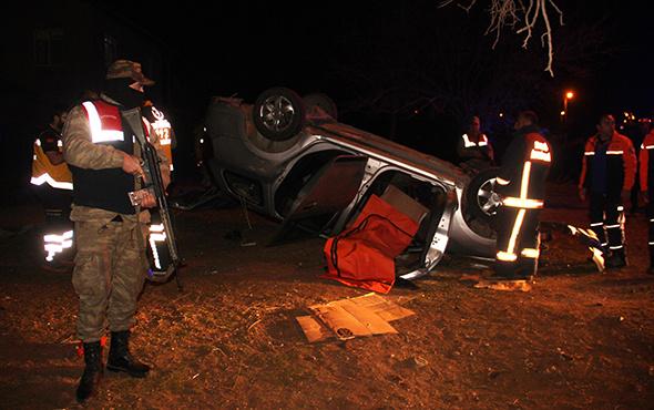 Polisler kaza yaptı: Üzücü haber geldi!