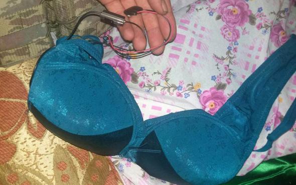 Afrin'de sütyen içinde bomba düzeneği bulundu