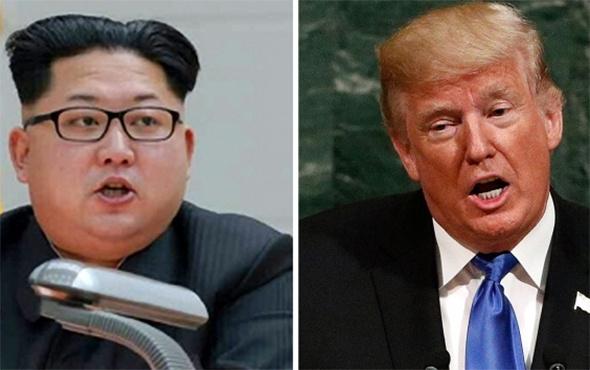 Trump'tan Kuzey Kore lideri ile görüşmek için tek şart!
