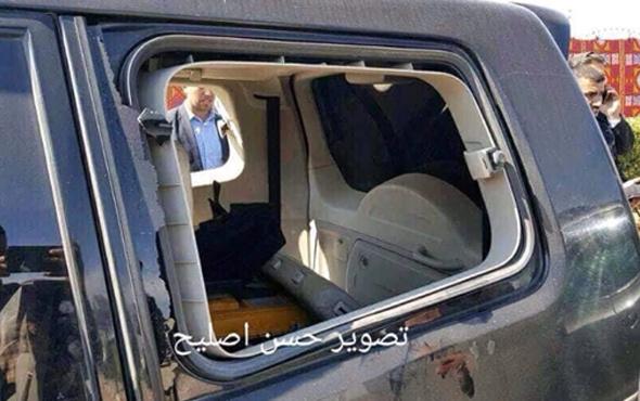 Filistin Başbakanı'nın konvoyuna patlama!