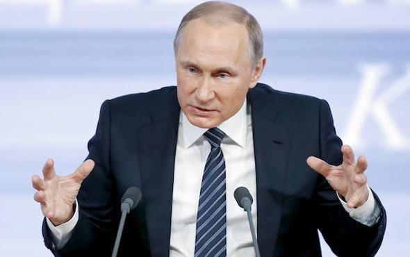 Putin Amerikalı muhabire sert çıktı! ABD kaos çıkarıyor