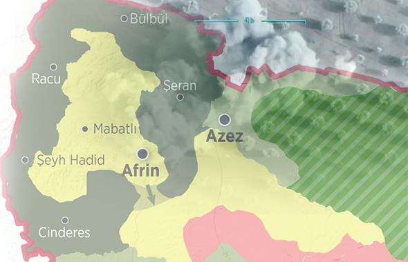 4 bin PKK'lı Afrin'den kaçtı