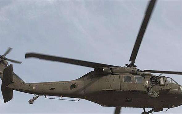 Irak'ta ABD askerlerini taşıyan helikopter düştü