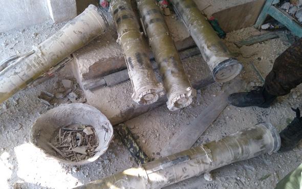 Afrin'de güdümlü tanksavar füzesi ele geçirildi