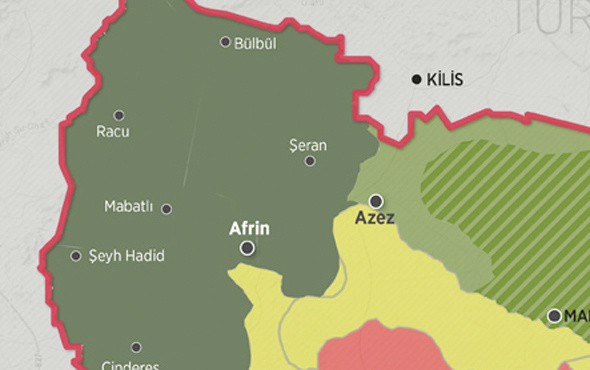 Suriye haritası Afrin zaferi sonrası değişti işte siyasi sonuçları