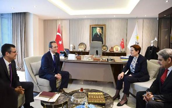CHP-İYİ Parti buluşması gerçekleşti! Ziyaretten ilk kareler