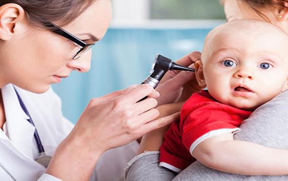 Çocuklarda orta kulak iltihabına dikkat