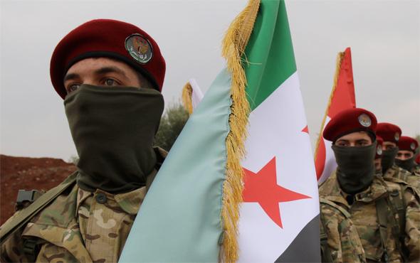 400 Afrinli Kürt Zeytin Dalı Harekatı'na katıldı