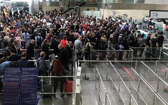 Atatürk Havalimanı'nda durum bu!