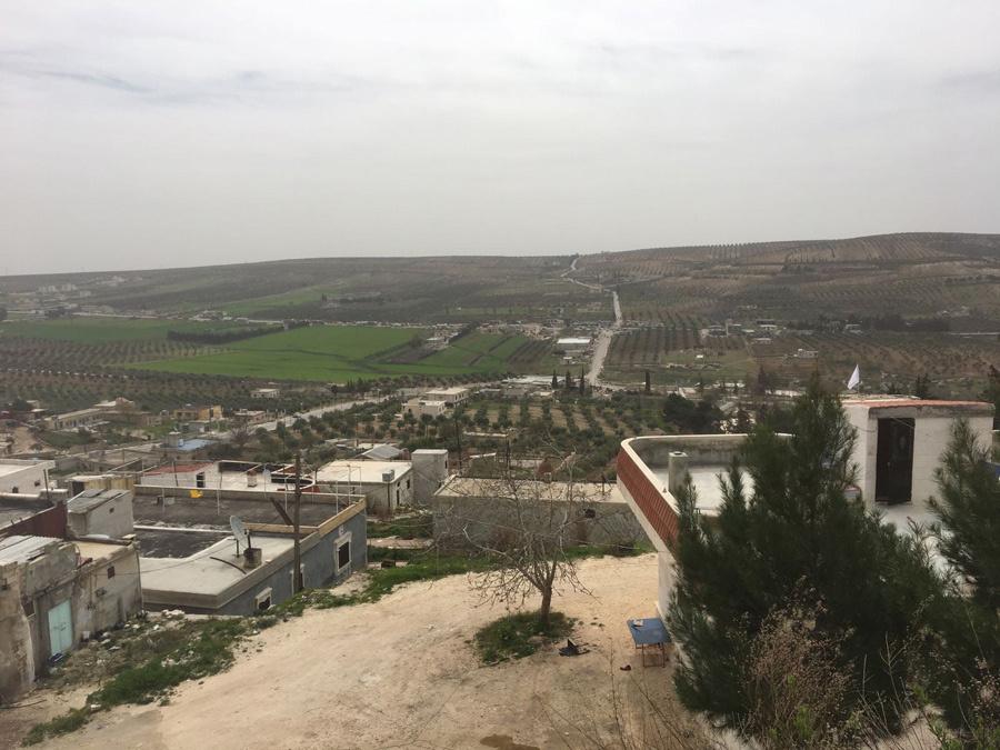 Afrin'de PKK'nın lüks villaları görüntülendi