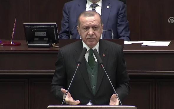 Erdoğan'dan Afrin'de 'yağma' açıklaması! Ganimet mi?