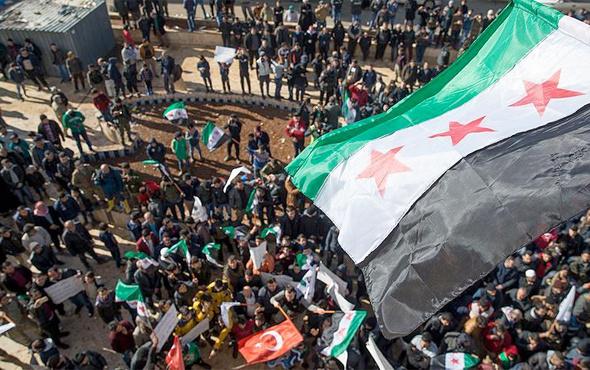 Tel Rıfatlılar 'bizi kurtarın' gösterisi düzenledi
