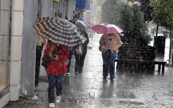 Antalya 5 günlük haritalı hava durumu tahmini
