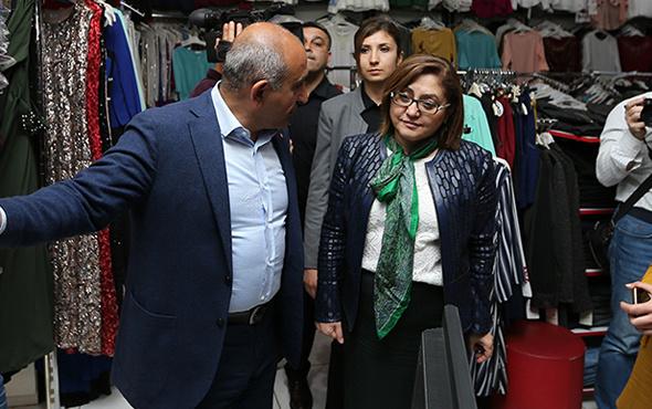 Başkan Fatma Şahin'den Kilis esnafına destek