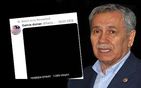 Bülent Arınç'ın hesabından +18'lik paylaşım! Ortalık yıkıldı...