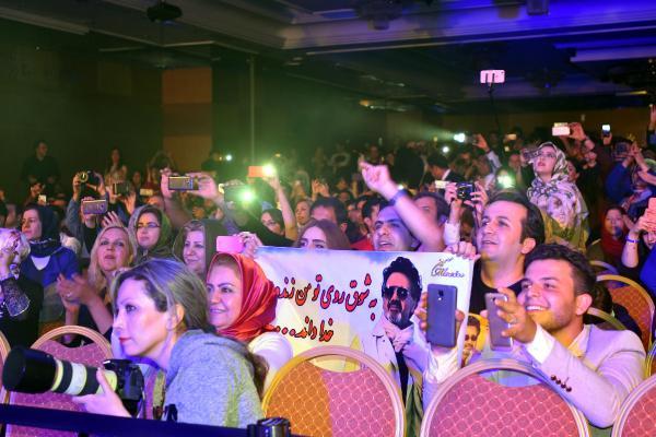 'Hoca' geldi İranlılar sabaha kadar eğlendi