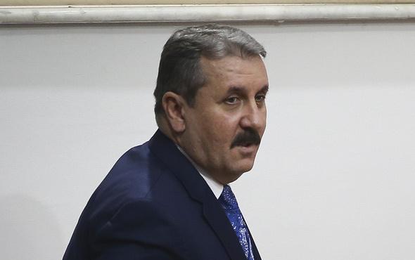 BBP Genel Başkanı Destici'den ittifak açıklaması