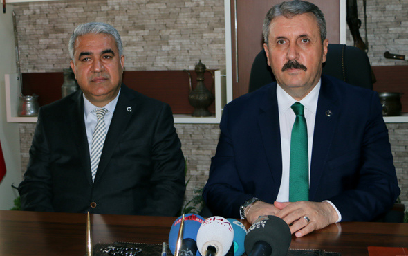 BBP lideri Mustafa Destici açıkladı: Seçim ittifakı...