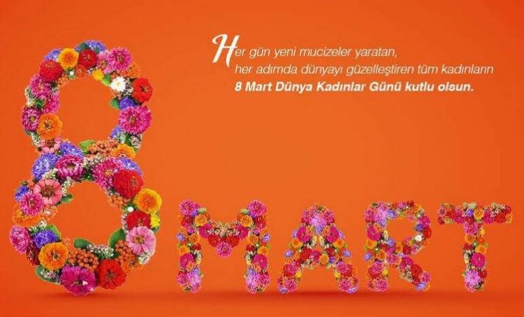 Kadınlar Günü mesajları resimli anlamlı sözler sayfası