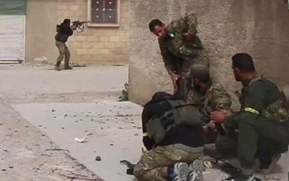 Cinderes'teki çatışma anı! ÖSO 'Allahu Ekber' deyip vurdu