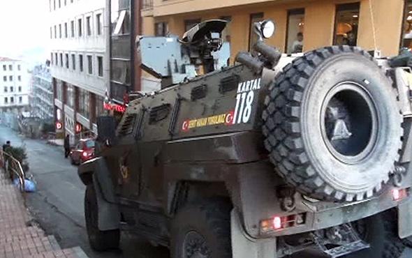 Taksim'de silahlı çatışma: Yaralılar var!