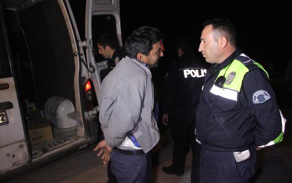 Polisten kaçan alkollü sürücü yakalanınca bakın ne dedi!