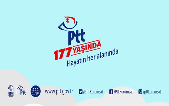 PTT 177 yaşında hayatın her alanında