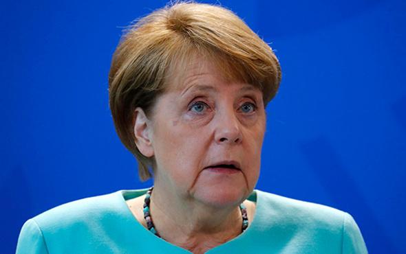 Merkel'den son dakika Suriye açıklaması!