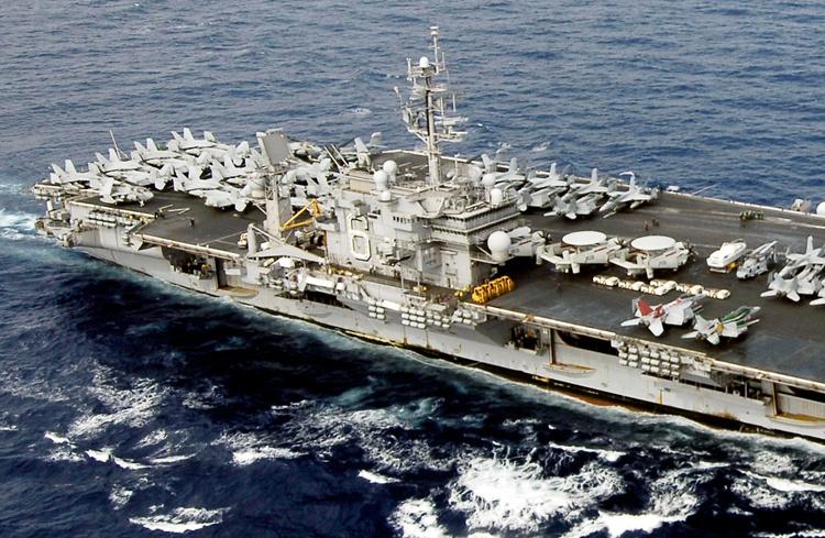 ABD uçak gemisine bakın! Amerika Suriye savaşı için bunu yolladı - Sayfa 1