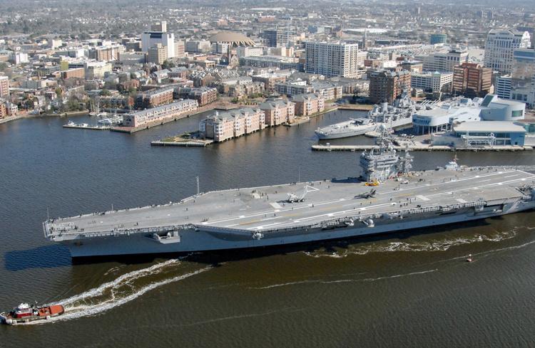 ABD uçak gemisine bakın! Amerika Suriye savaşı için bunu yolladı - Sayfa 2