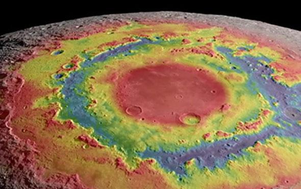 NASA'nın hazırladığı görüntülerle Ay turu yapmak