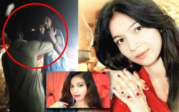 Pakistan'da hamile şarkıcıyı sahnede öldürdüler!