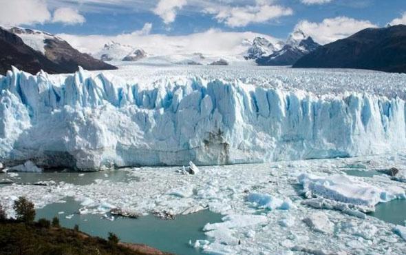 Perito Moreno Buzulu yıkılma anı