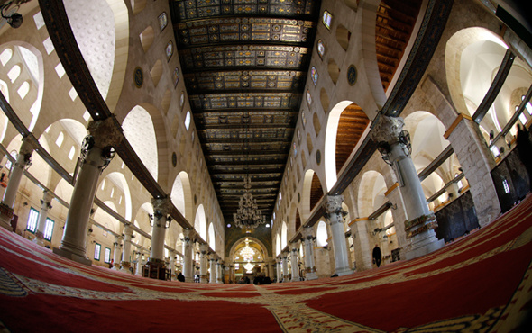 Hz. Muhammed miraca nasıl çıktı işte Kudüs'teki o kutsal mekan
