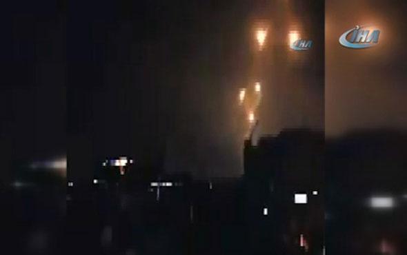Suriye hava savunma sistemlerini aktif etti