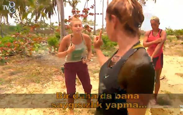 Nagihan ve Yağmur Erzak Yüzünden Tartıştı! 'Sen Yalancısın'