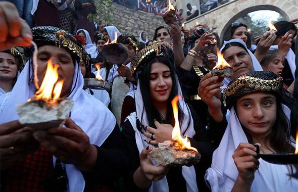 Bugün Ezidi bayramı Çarşema sor! Yezidilerin çok tuhaf dini inancı