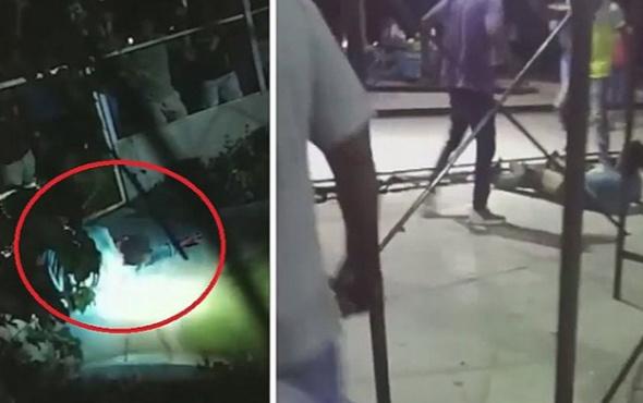 Tecavüzcüyü timsahların önüne attılar
