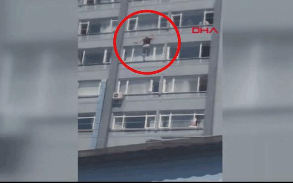 Şişli Hamidiye Etfal Eğitim ve Araştırma Hastanesi'nde bir kişi 6'ncı kattan atladı!