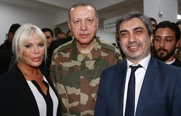 Erdoğan ile sınıra giden ünlüler kimdi? Necati Şaşmaz bombası