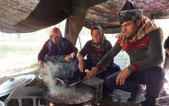 Mersin'deki Sarıkeçili Yörükleri göç hazırlığına başladı