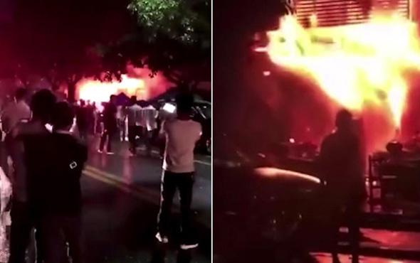Çin'de yangın faciası: 18 ölü, 5 yaralı