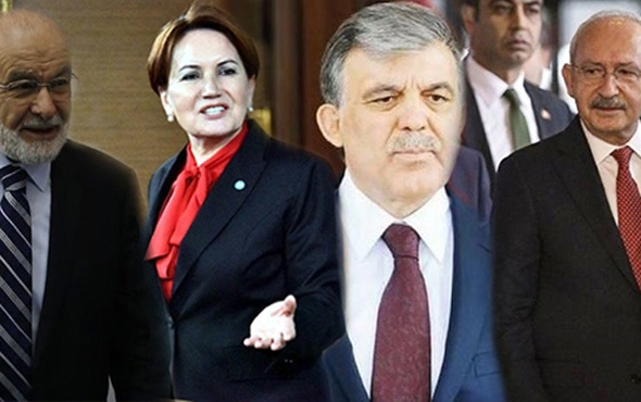Gül, Akşener, Kılıçdaroğlu ve Karamollaoğlu bu akşam buluşuyor - Internet Haber