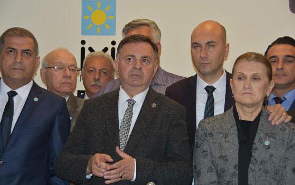 İYİ Parti'de İzmir depremi! İl Başkanı ve 19 yönetici istifa etti
